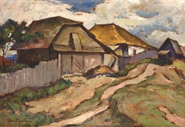 Adam Bălțatu - Uliță de sat