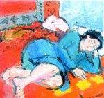 Alexandru Ciucurencu - Fată dormind