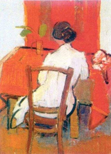 Alexandru Ciucurencu – Femeie în gri