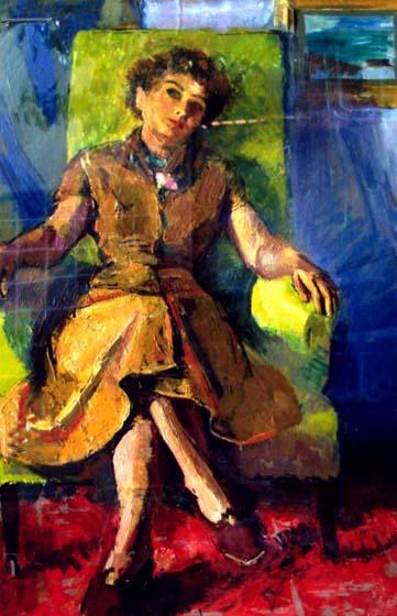 Alexandru Ciucurencu – Portretul doamnei Călinescu