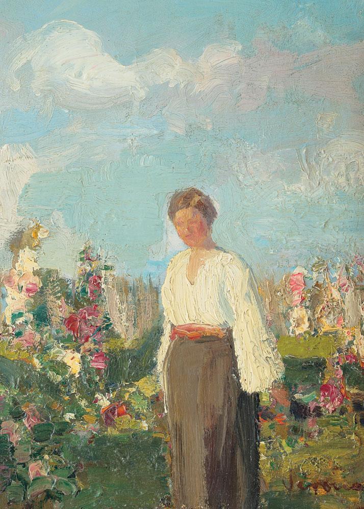 Arthur  Verona - În grădina cu flori