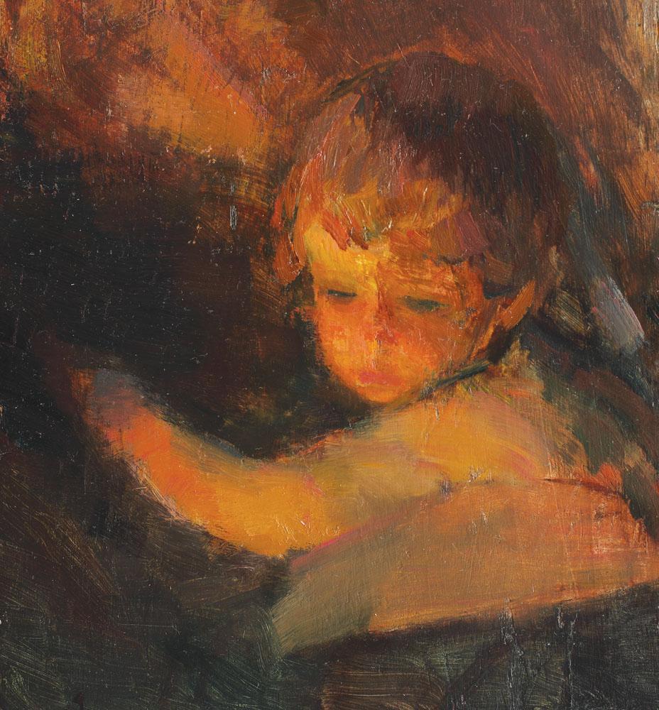 Arthur  Verona - Studiu de copilaş
