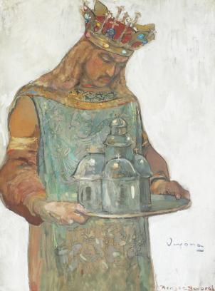 Arthur  Verona - Studiu pentru Neagoe Basarab