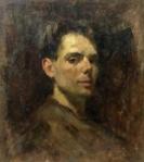Aurel Băeșu - Autoportret