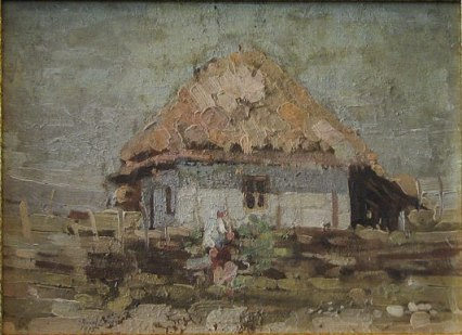 Aurel Băeșu - Casa taraneasca