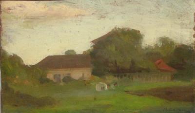 Aurel Băeșu - Case la marginea satului