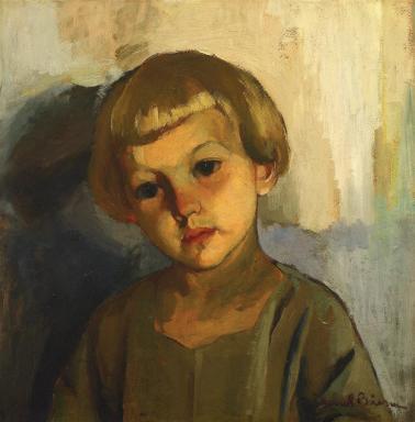Aurel Băeșu - Copil cu părul bălai