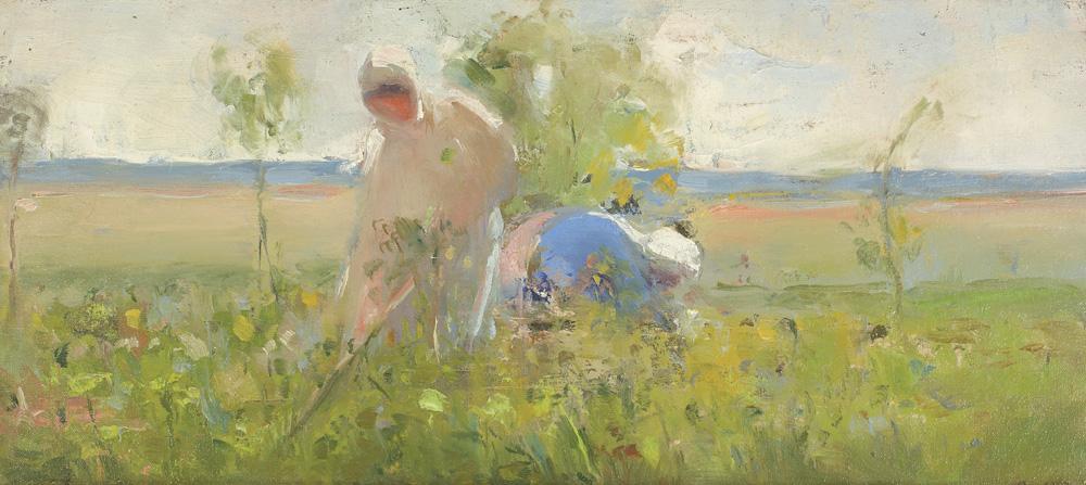 Aurel Băeșu - La câmp