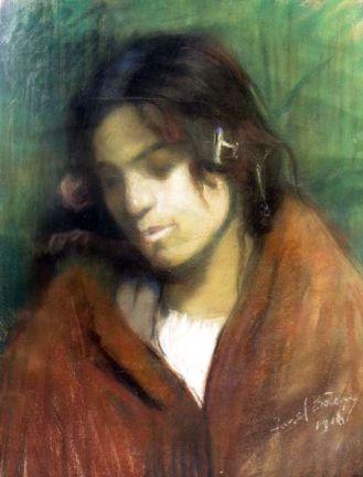 Aurel Băeșu - Portret de fata