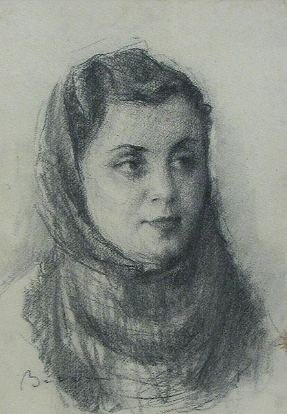Aurel Băeșu - Portret de fata2
