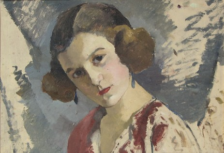 Aurel Băeșu – Portret de femeie