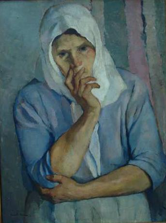 Aurel Băeșu - Portret de taranca