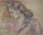Aurel Băeșu - Profil de femeie