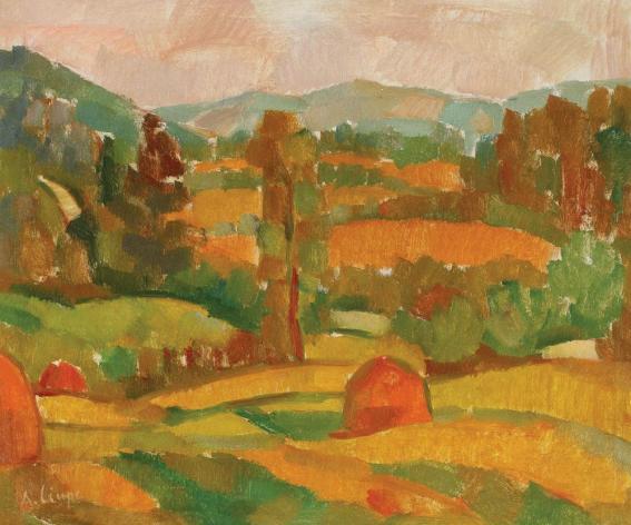 Aurel Ciupe - Peisaj de vară