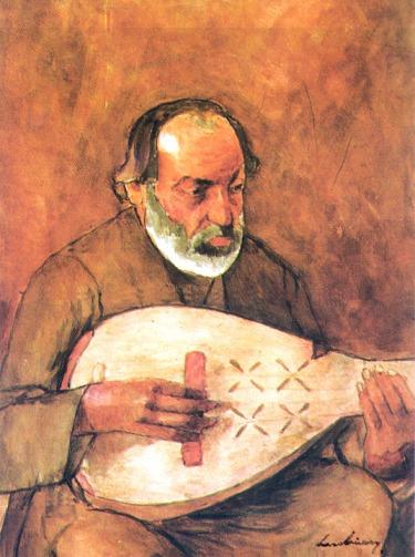 Ştefan Luchian - Cobzarul