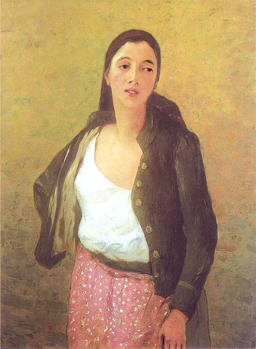 Ştefan Luchian - Safta Florăreasa, 1901