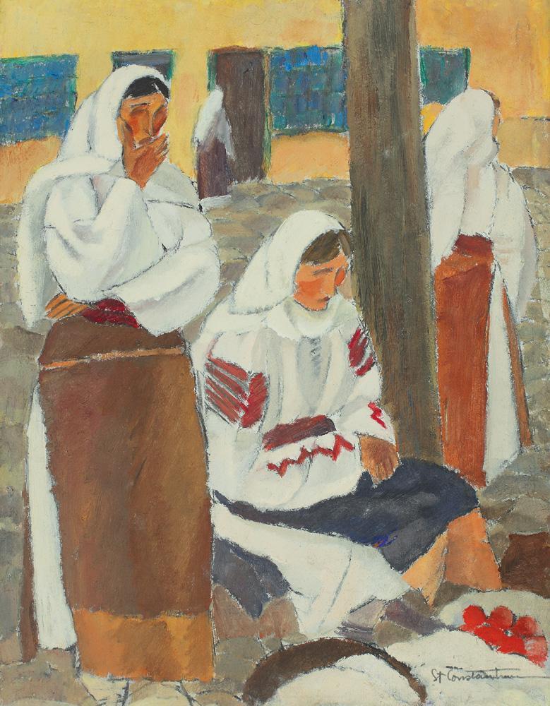 Ștefan Constantinescu - La targ