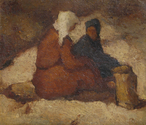 Ștefan Dimitrescu - Doua femei
