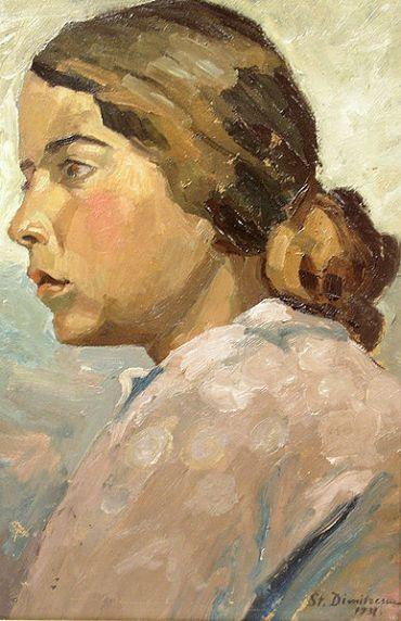 Ștefan Dimitrescu – Fata din profil