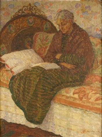 Ștefan Dimitrescu - Femeie citind