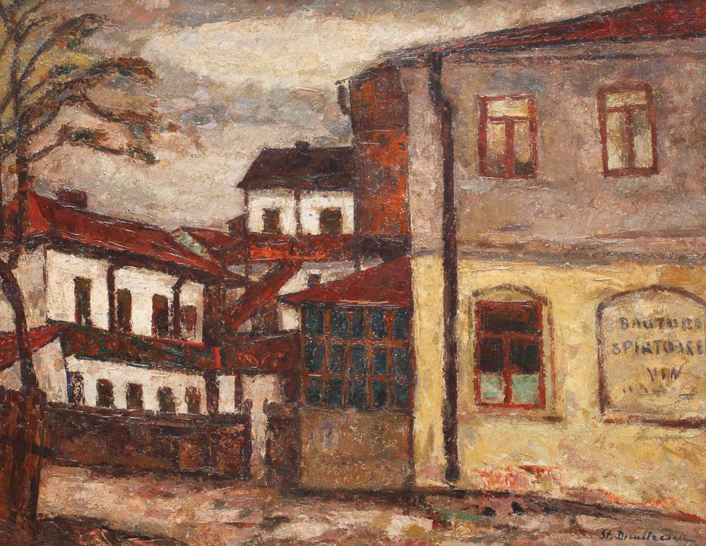 Ștefan Dimitrescu - Han din Târgu Cucului