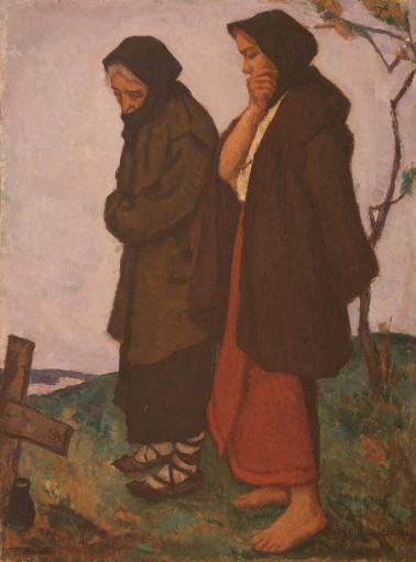 Ștefan Dimitrescu - O cruce pe deal