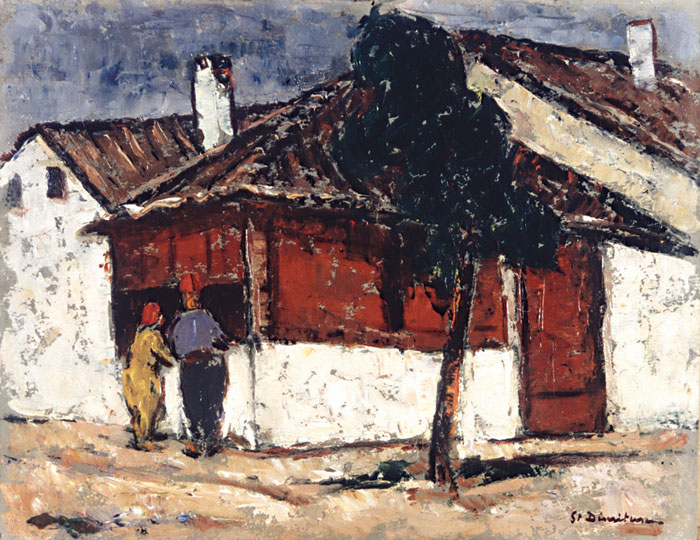 Ștefan Dimitrescu - Peisaj din Balcic