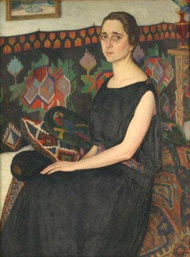 Ștefan Dimitrescu – Portretul Eugeniei Stoian