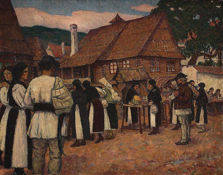 Ștefan Dimitrescu - Targ la Saliste