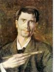 Ștefan Luchian - Autoportret.Un zugrav
