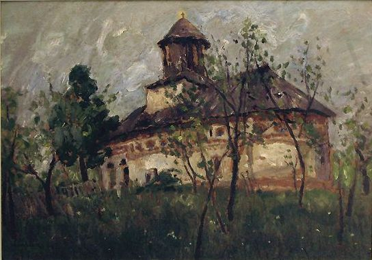 Ștefan Luchian - Biserica la sat