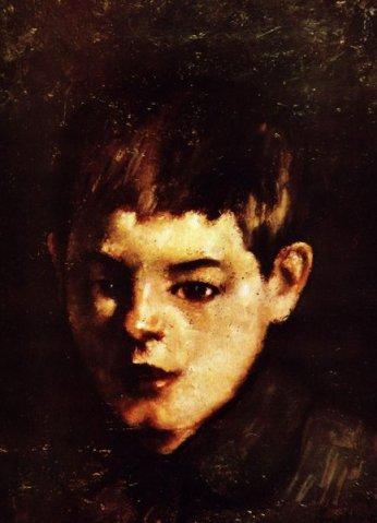 Ștefan Luchian - Cap de copil
