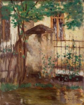 Ștefan Luchian - Casa cu gard