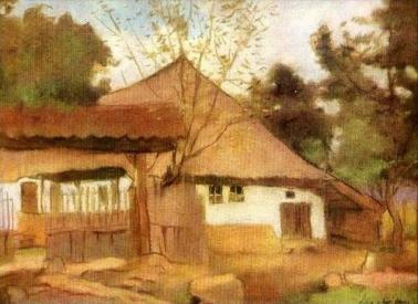 Ștefan Luchian - Casa din Brebu