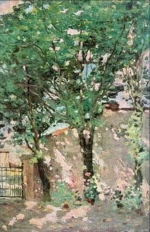 Ștefan Luchian - Colt din strada Povernei