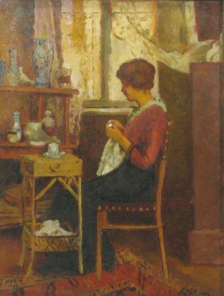 Ștefan Luchian - In atelier