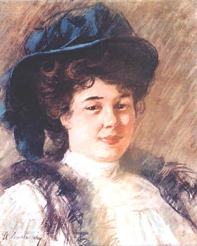 Ștefan Luchian – Portret de femeie