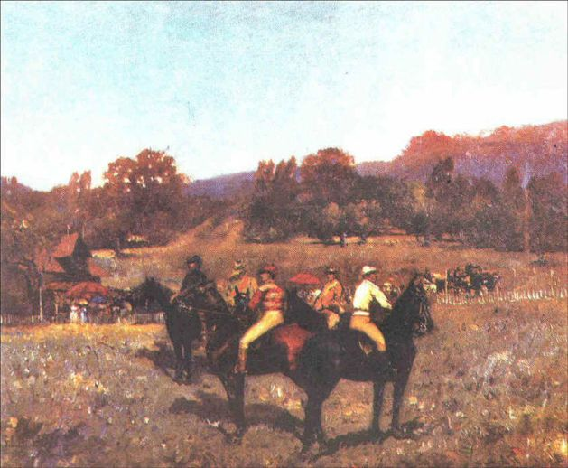 Ștefan Luchian - Ultima cursa de toamna