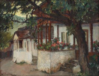 Ștefan Popescu - Cerdac cu flori
