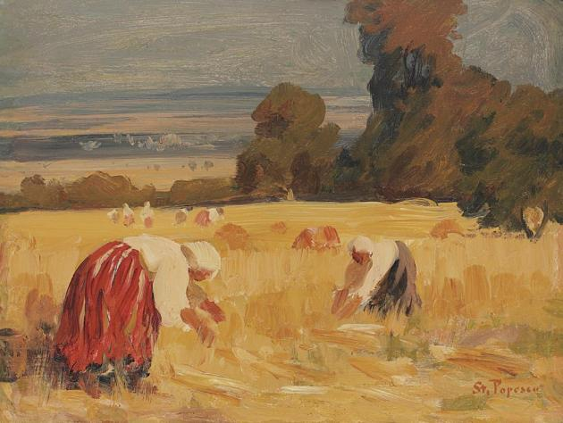 Ștefan Popescu - La seceriş