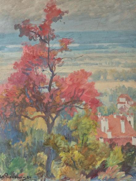 Ștefan Popescu - Peisaj din Provence