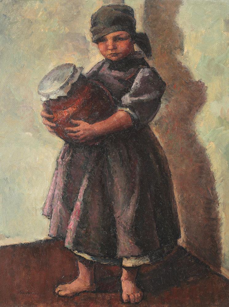 Camil Ressu - Borcanul cu smântână (Smaranda)