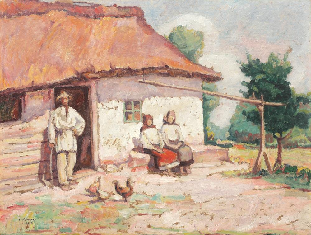 Camil Ressu - În ogradă