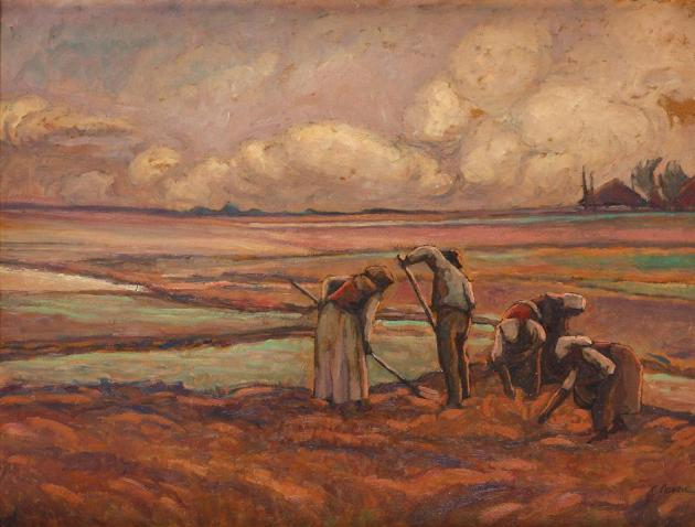 Camil Ressu - Culegătorii de cartofi