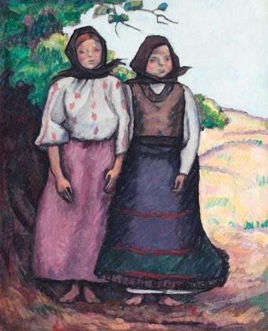 Camil Ressu - Două surori