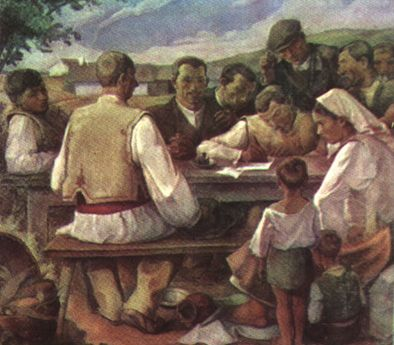 Camil Ressu – Semnarea apelului pentru pace
