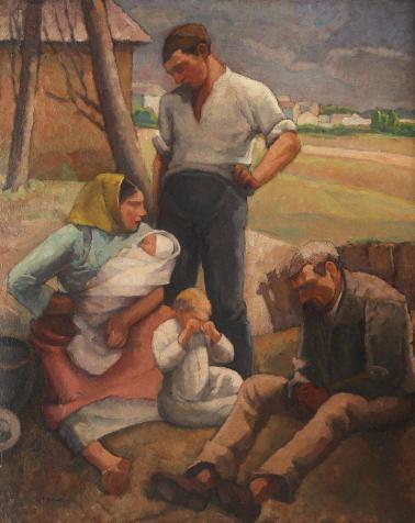 Camil Ressu - Familie de țărani
