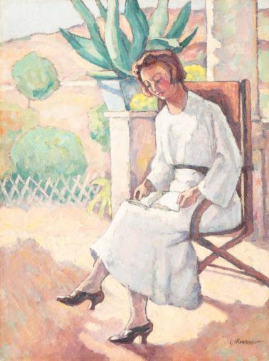 Camil Ressu – Pe terasă