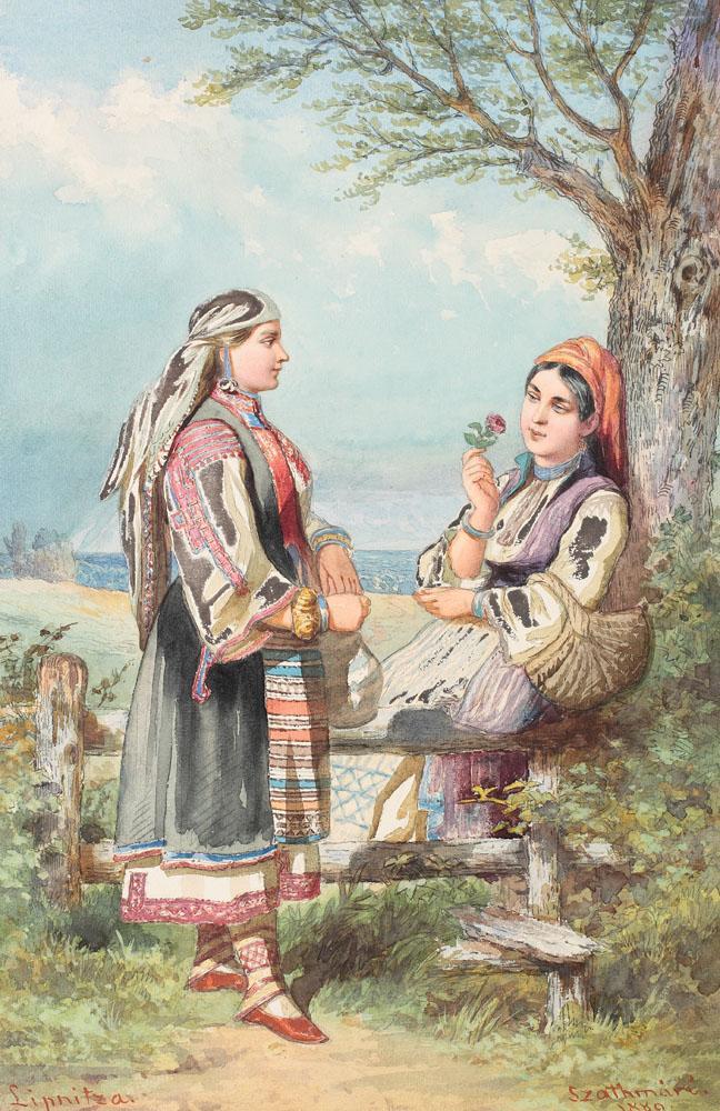 Carol Popp de Szathmari - Bune prietene (Alegoria relațiilor valaho-bulgărești)