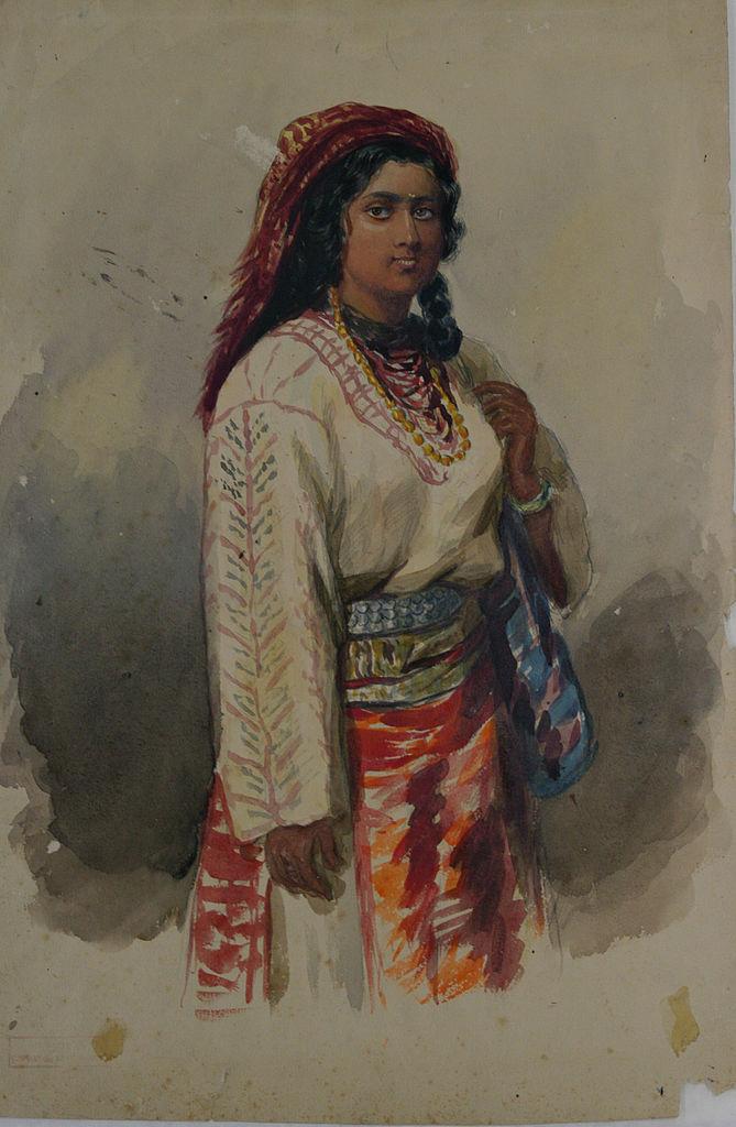 Carol Popp de Szathmari - Ţigancă 2